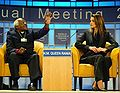Desmond Tutu, Queen Rania - World Economic Forum Annual Meeting New York 2002.jpg