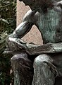 "Detail, Daniel Chester French's 1904 Bronze, ""Labor Reading"" (Pittsburgh, PA) (2896336385).jpg"