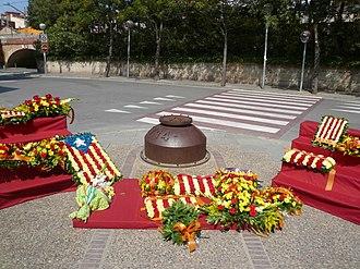 Sant Feliu de Llobregat - 11 September (1714) monument