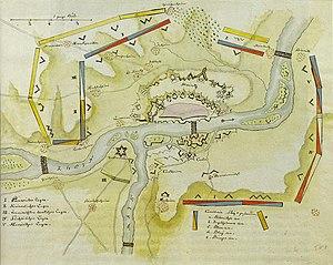 Siege of Mainz (1793) - Image: Die Belagerung von 1793 a
