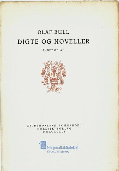 File:Digte og Noveller.djvu