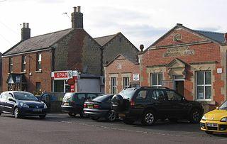 Dilton Marsh village in the United Kingdom
