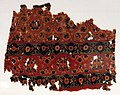 Dinastia omayyade, frammento tessile, iran, iraq o egitto, 750 ca.jpg