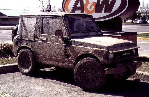 Dirty Suzuki Samurai