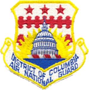 District of Columbia Air National Guard - Image: District of Columbia Air National Guard emblem