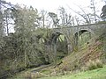 Disused viaduct over Thornhope Burn - geograph.org.uk - 766312.jpg