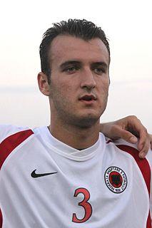 Ditmar Bicaj Albanian professional footballer