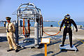 Diving Bell Display at No.7 East Pier, Zuoying Naval Base 20141123.jpg