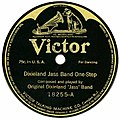 Dixieland Jass Band One-Step ODJB 78 1917 Victor.jpg
