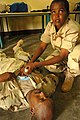 Djibouti U.S. Army Africa Soldiers offer first responder course 090806 (3820496616).jpg