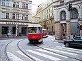 Dlážděná, z Havlíčkovy, tramvaj X-A.jpg