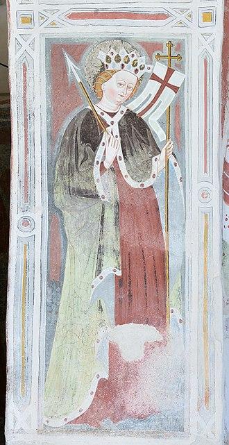 Saint Ursula - Image: Dlieja Sacun Santa Ursula