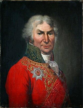 Dmitry Khvostov - Portrait by Stepan Shchukin