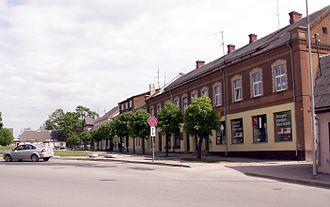 Dobele - Dobele central square