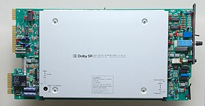 Dolby SR - A Dolby SR card for a multitrack station.