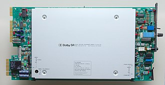 Dolby SR - A Dolby SR card for a multitrack station.