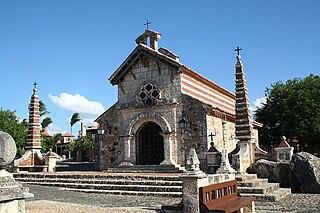 Altos de Chavón construction