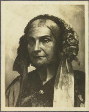 Domitila de Castro, Marchioness of Santos - Domitila de Castro at the age of 68, c. 1865