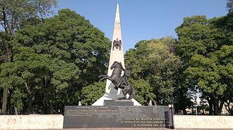La Mesa (Tijuana) - Don José María Morelos statue in Morelos Park