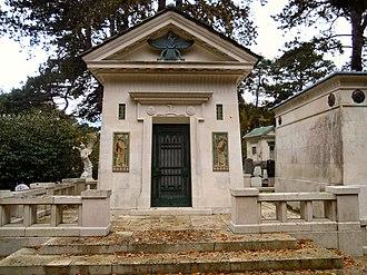 Dorabji Tata - Mausoleum of Dorabji Tata in Brookwood Cemetery