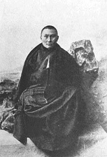 Russian Buddhist monk and diplomat, envoy and Finance Minister of Tibet