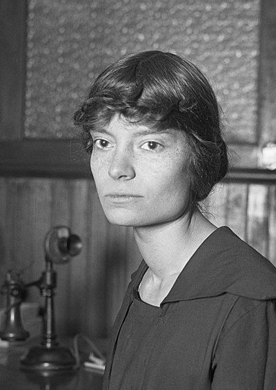 Dorothy Day, American journalist, anarchist social activist, and Catholic convert