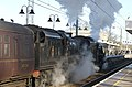 Double header to Norwich leaves Ely, Cambridgeshire, 06-12-14 - panoramio.jpg