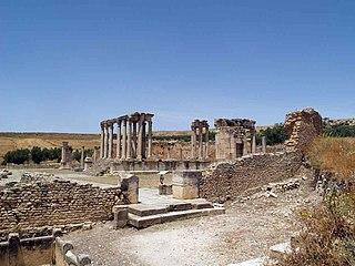 Temple of Juno Caelestis (Dougga) ancient Roman temple of Dougga