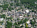 Downtown Millersburg, Ohio, from the air.jpg