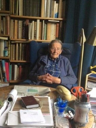 Joyce Reynolds (classicist) - Reynolds still working at 97, Cambridge 2016