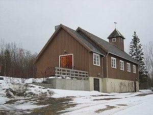 Drag/Helland Church - Image: Drag Helland kirke