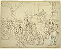 Drawing, Martyrdom of St. Andrew, 1825–50 (CH 18126305).jpg