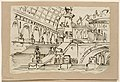 Drawing, Stage Design, Group of Antique Buildings, early 19th century (CH 18542589).jpg