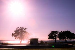 Mission Bay, New Zealand - Trevor Moss Davis Memorial Fountain