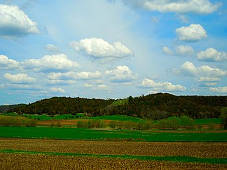 Driftless Area - Typical Driftless Area Scenery