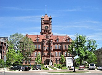 DuPage County Courthouse - Image: Du Page County Courthouse