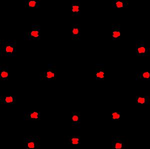 Triakis icosahedron - Image: Dual dodecahedron t 12 exx