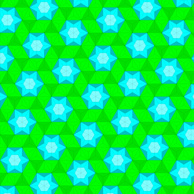 Dual of Fractalizing the Snub Trihexagonal Tiling (Truncated Hexagonal).png