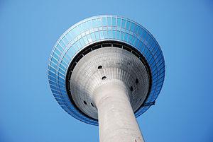 Deutsch: Düsseldorf, Rheinturm
