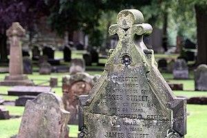 English: Cemetery in . Français : Cimetière à ...