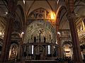 Duomo di verona, cappella maggiore, affreschi di francesco torbido (1534) su cartoni di giulio romano 00.JPG