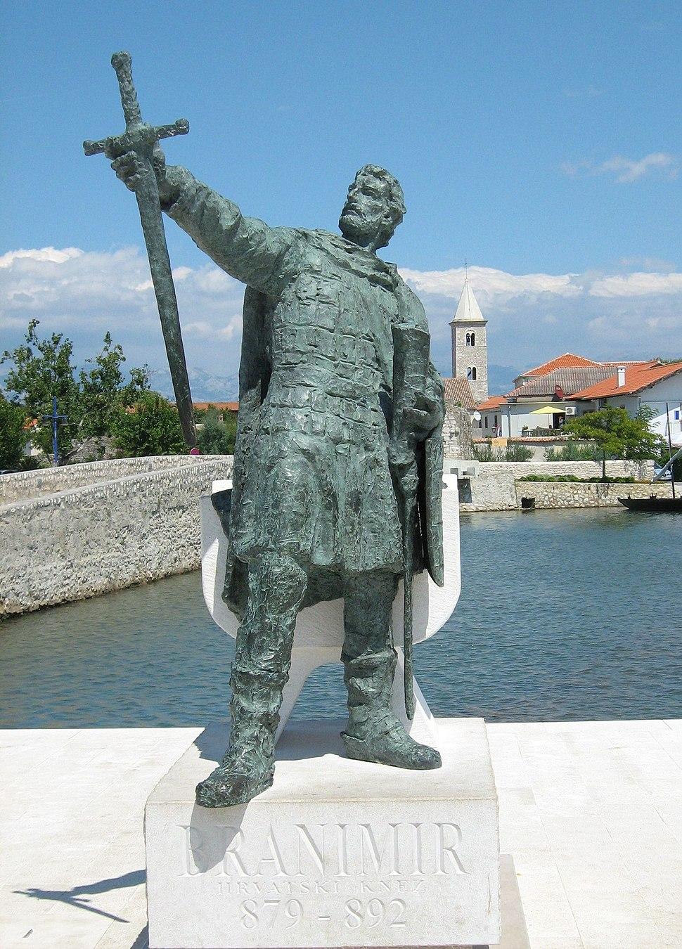 Dux Branimir of Croatia front