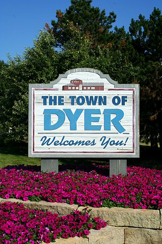 Dyer, Indiana - Image: Dyer IN