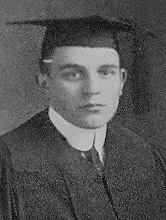 E. M. Page - 1913 graduation picture