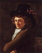 Ludovike Simanowiz: Portrait Eberhard von Wächter, um 1791 (Quelle: Wikimedia)