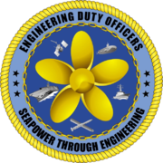 Official logo of the Engineering Duty Officer Community.