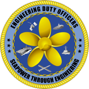 Engineering duty officer - Official logo of the engineering duty officer community.