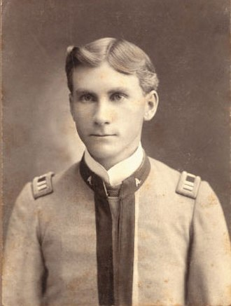 Texas A&M University Corps of Cadets - Edwin Jackson Kyle, the namesake of Kyle Field, in 1890 wearing his cadet uniform
