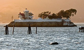 The Brothers (San Francisco Bay) - East Brother Light Station