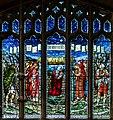 East window, St Paul's church, Morton (18071639150).jpg